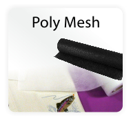 Poly Mesh No-Show Embroidery Backing / Stabilizer