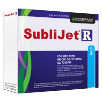 Cyan Sublijet Sublimation Ink Cartridge For Ricoh SG 3110dn SG 7100DN Sublimation Printer