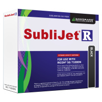 Black Sublijet Sublimation Extended Ink Cartridge Fits Ricoh SG7100DN MAIN