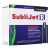 Black Sublijet Sublimation Extended Ink Cartridge Fits Ricoh SG7100DN