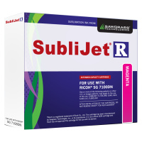 Magenta Sublijet Sublimation Extended Ink Cartridge Fits Ricoh SG7100DN