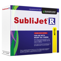 Yellow Sublijet Sublimation Extended Ink Cartridge Fits Ricoh SG7100DN_MAIN