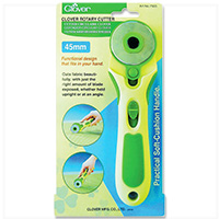 Soft Cushion Rotary Cutter - 45mm by Clover MAIN