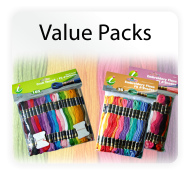 Iris Value Packs - Cotton Floss and Craft Threads