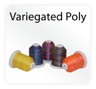 Polyester Rayon Variegated Amp Metallic Machine Embroidery