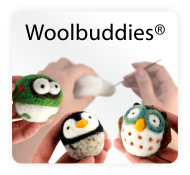 Woolbuddy Needle Felting Kits and Supplies