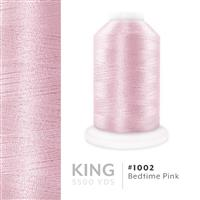 Bedtime Pink # 1002 Iris Trilobal Polyester Machine Embroidery & Quilting Thread - 5500 Yds THUMBNAIL