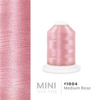 Medium Rose # 1004 Iris Polyester Embroidery Thread - 1100 Yds THUMBNAIL