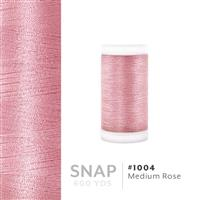 Medium Rose # 1004 Iris Polyester Embroidery Thread - 600 Yd Snap Spool THUMBNAIL