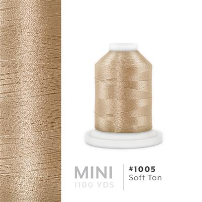 Soft Tan # 1005 Iris Polyester Embroidery Thread - 1100 Yds MAIN