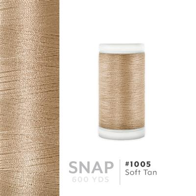 Soft Tan # 1005 Iris Polyester Embroidery Thread - 600 Yd Snap Spool MAIN