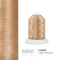 Light Wicker # 1007 Iris Polyester Embroidery Thread - 1100 Yds THUMBNAIL