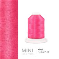Neon Pink # 1011 Iris Polyester Embroidery Thread - 1100 Yds THUMBNAIL