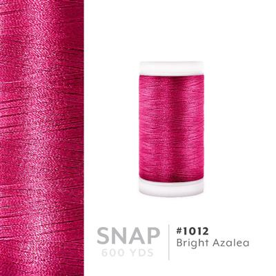 Bright Azalea # 1012 Iris Polyester Embroidery Thread - 600 Yd Snap Spool MAIN