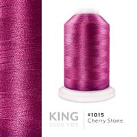 Cherry Stone # 1015 Iris Trilobal Polyester Machine Embroidery & Quilting Thread - 5500 Yds THUMBNAIL