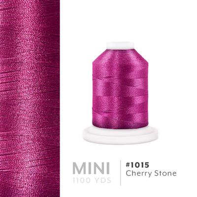 Cherry Stone # 1015 Iris Polyester Embroidery Thread - 1100 Yds MAIN