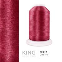 Cherry # 1017 Iris Trilobal Polyester Machine Embroidery & Quilting Thread - 5500 Yds THUMBNAIL