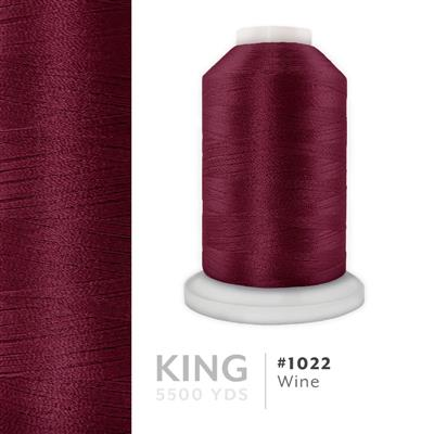 Wine # 1022 Iris Trilobal Polyester Thread - 5500 Yds MAIN