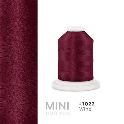 Wine # 1022 Iris Polyester Embroidery Thread - 1100 Yds MAIN