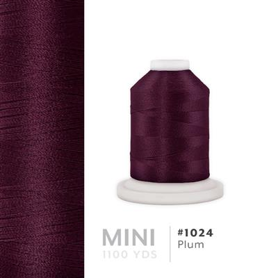 Plum # 1024 Iris Polyester Embroidery Thread - 1100 Yds MAIN