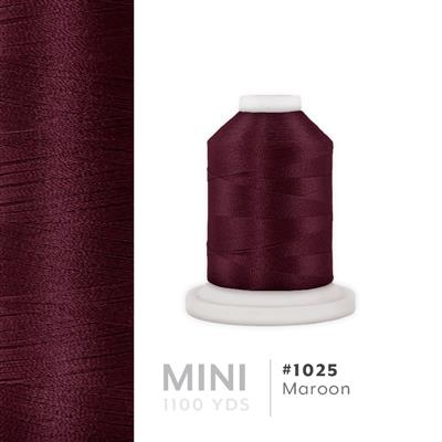 Maroon # 1025 Iris Polyester Embroidery Thread - 1100 Yds MAIN