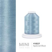 Special Blue # 1027 Iris Polyester Embroidery Thread - 1100 Yds THUMBNAIL