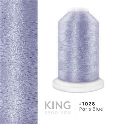 Paris Blue # 1028 Iris Trilobal Polyester Thread - 5500 Yds MAIN
