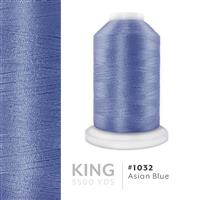 Asian Blue # 1032 Iris Trilobal Polyester Machine Embroidery & Quilting Thread - 5500 Yds THUMBNAIL