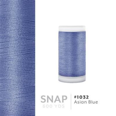 Asian Blue # 1032 Iris Polyester Embroidery Thread - 600 Yd Snap Spool MAIN