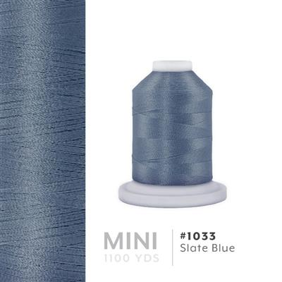 Slate Blue # 1033 Iris Polyester Embroidery Thread - 1100 Yds MAIN