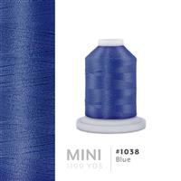 Blue # 1038 Iris Polyester Embroidery Thread - 1100 Yds THUMBNAIL