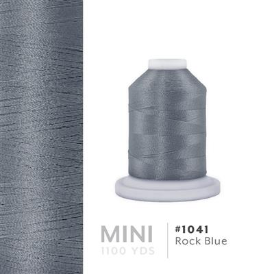 Rock Blue # 1041 Iris Polyester Embroidery Thread - 1100 Yds MAIN
