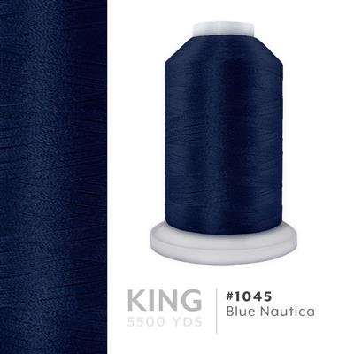 Blue Nautica # 1045 Iris Trilobal Polyester Thread - 5500 Yds MAIN