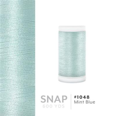 Mint Blue # 1048 Iris Polyester Embroidery Thread - 600 Yd Snap Spool MAIN