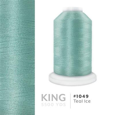 Teal Ice # 1049 Iris Trilobal Polyester Thread - 5500 Yds MAIN