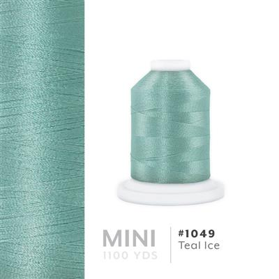 Teal Ice # 1049 Iris Polyester Embroidery Thread - 1100 Yds MAIN