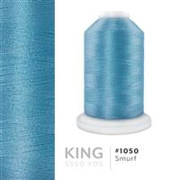 Smurf # 1050 Iris Trilobal Polyester Machine Embroidery & Quilting Thread - 5500 Yds THUMBNAIL
