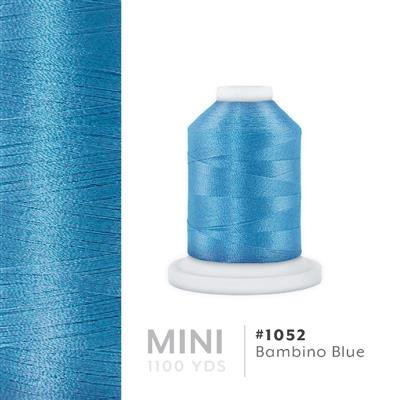 Bambino Blue # 1052 Iris Polyester Embroidery Thread - 1100 Yds MAIN