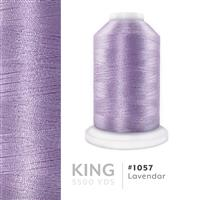 Lavendar # 1057 Iris Trilobal Polyester Machine Embroidery & Quilting Thread - 5500 Yds THUMBNAIL