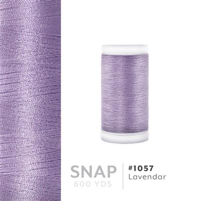 Lavendar # 1057 Iris Polyester Embroidery Thread - 600 Yd Snap Spool MAIN