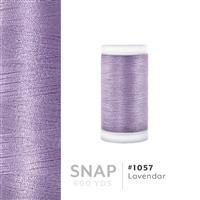 Lavendar # 1057 Iris Polyester Embroidery Thread - 600 Yd Snap Spool THUMBNAIL