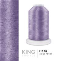Tulip Petal # 1058 Iris Trilobal Polyester Machine Embroidery & Quilting Thread - 5500 Yds THUMBNAIL