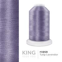 Tulip Lavendar # 1059 Iris Trilobal Polyester Machine Embroidery & Quilting Thread - 5500 Yds THUMBNAIL
