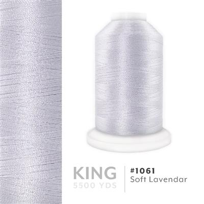 Soft Lavendar # 1061 Iris Trilobal Polyester Thread - 5500 Yds MAIN