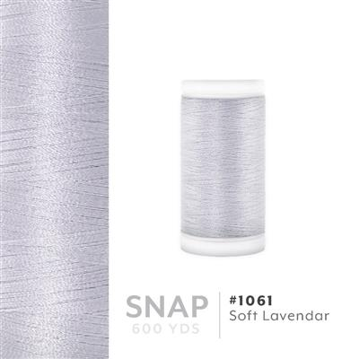 Soft Lavendar # 1061 Iris Polyester Embroidery Thread - 600 Yd Snap Spool MAIN