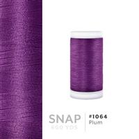 Plum # 1064 Iris Polyester Embroidery Thread - 600 Yd Snap Spool THUMBNAIL