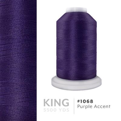 Purple Accent # 1068 Iris Trilobal Polyester Thread - 5500 Yds MAIN