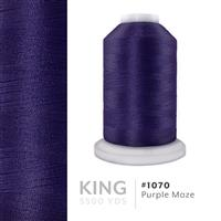 Purple Maze # 1070 Iris Trilobal Polyester Machine Embroidery & Quilting Thread - 5500 Yds THUMBNAIL