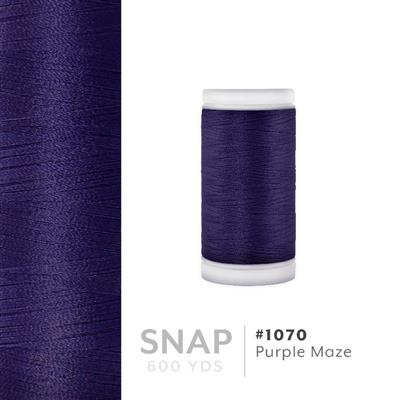 Purple Maze # 1070 Iris Polyester Embroidery Thread - 600 Yd Snap Spool MAIN