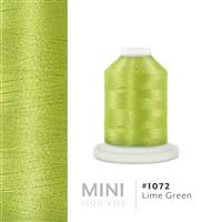 Lime Green # 1072 Iris Polyester Embroidery Thread - 1100 Yds THUMBNAIL